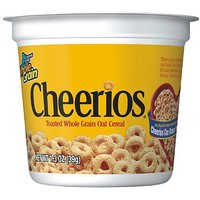 Cheerios Cereal Cup, 1.3 Oz, 12 Pack