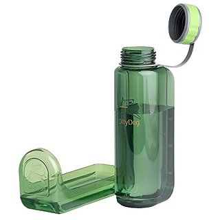 OllyDog Grass OllyBottle Water Bottle, 1 L