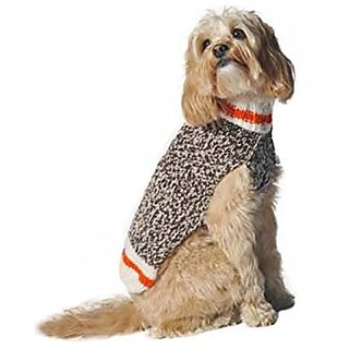 Chilly Dog Cabin Fever Dog Sweater, X-Large