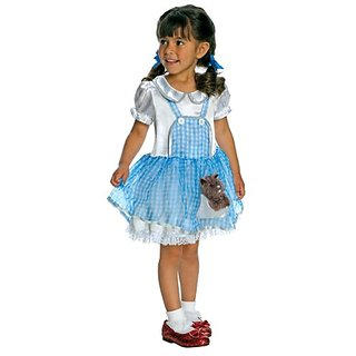 Wizard Of Oz Costume, Dorothy Costume, Small Size 4-6, 3 to 4 years