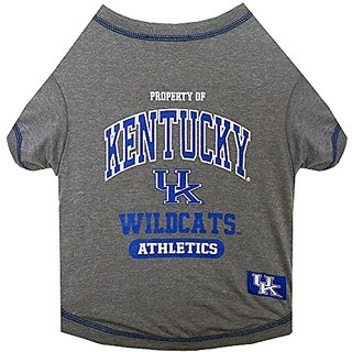 Pets First Collegiate University of Kentucky Wildcats Pet Tee Shirt, X-Large