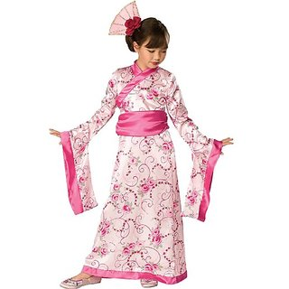 Asian Princess Child Costume (Small 4-6)