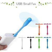 BAB USB Fan Portable Mini USB Fan Adjust Angle USB Powered Fan Quiet Fan For PC Mac Power Bank Notebook Computer Keyboar