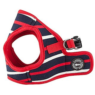 CATSPIA Fritz Vest Harness for Pets, Navy, Large