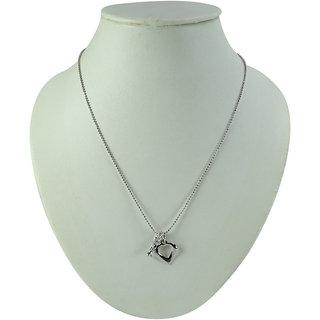 Oroca Arts Silver Brass & Copper Non Plated Chain For  Women