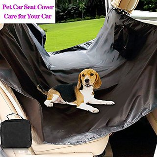 Alotpower Pet Car Seat Cover Waterproof Pet Car Mat Hammock Durable Material Pet Seat Cover - Black
