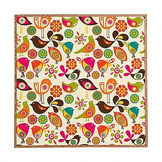 DENY Designs Framed Wall Art, Valentina Ramos Little Birds, Small