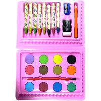 24 Pcs Colouring Kit For Kids - WS