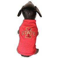 NCAA Iowa State Cyclones Cotton Lycra Dog Tank Top, Small