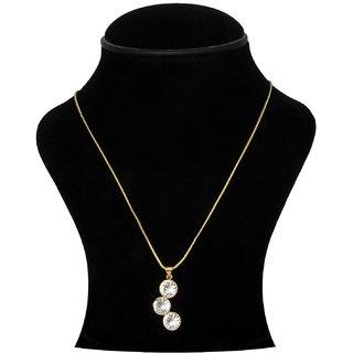 Trisha Jewels 24K Gold Plated With Crystal Stone
