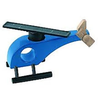 AviatorShopper Solar Helicopter Blue