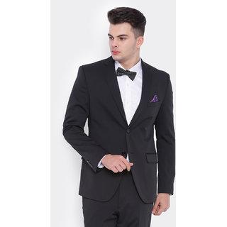 Suitltd Black Jacket For Men