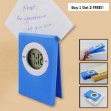 Clip + Clock + Visiting Card Holder + Memo Holder & Very Cute Design (Set Of 3)
