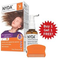Nyda Freedom From Head Lice And Their Eggs Scientifically Highly Proven