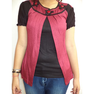 Vestire Girls Top (Black)