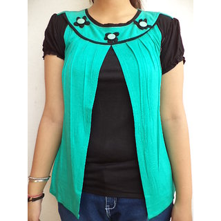 Vestire Sea Green Top