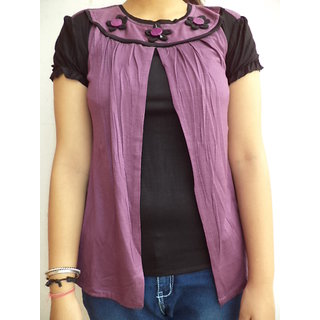 Vestire Girls Top (Purple)