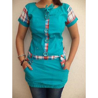 Vestire Girls Top (Blue)