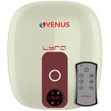 VENUS DIGITAL 10RD 10 LTR ELECTRIC WATER HEATER ( IVORY/WINERED )