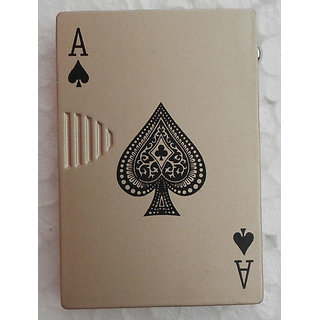 Vanyas Playing Card Shape Lighter