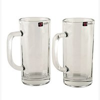 BlinkMax Glassware-Blinkmax Cowboy beer mug - set of 2 -353 Ml each