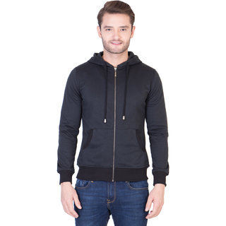 La-Vora Black Sweatshirt with hood Boys