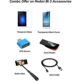 Redmi Mi5 Combo Offer on Accessories
