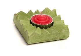 Candal Holder Made Of Concrete With Scented Candal 105