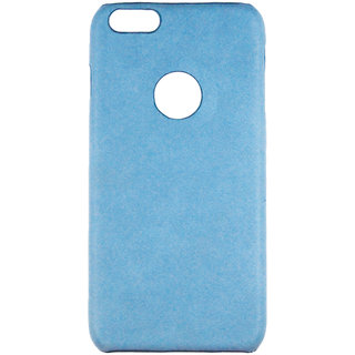100 Microns Protective Leather Mobile Cover for I Phone 6   in Teal Blue colour