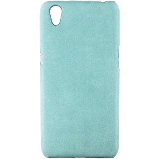100 Microns Protective Leather Mobile Cover for VIVO Y51L  in Teal Blue colour