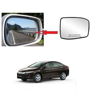 Carsaaz Right + Left Side Sub-Mirror Plate for Honda City I Vtech
