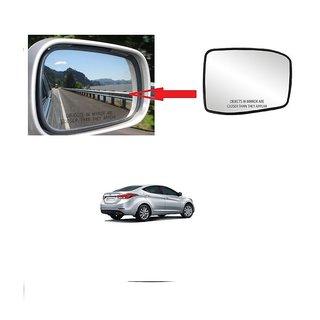 Carsaaz Right + Left Side Sub-Mirror Plate for Hyundai Elantra