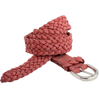 HONEYBADGER REAL LEATHER BRAIDED WOMEN'S BELT