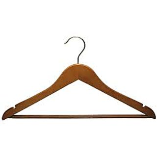 Wooden Curve Shaped Cloth Hanger Wall Panel