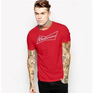 Budweiser FAN ART High Quality Unisex Casual Beer T-shirt tee tees