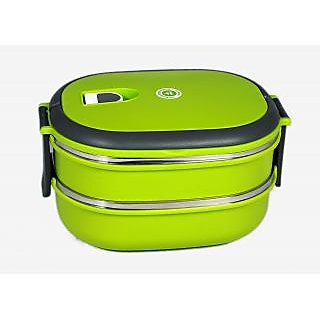 D-ROCK 2 Layer Lunch Box