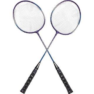 Blue Dot Blaster 5 Strung Badminton Racquet (Multicolor, Weight - 300 G)