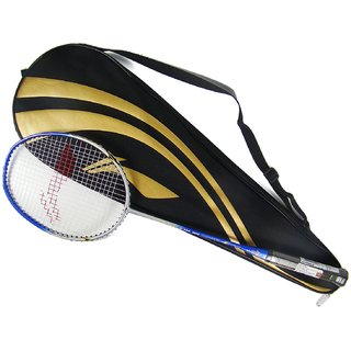Li-Ning G Tek 900 S2 Strung Badminton Racquet (Blue, Silver, Weight - W3)