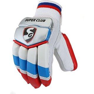 Sg Super Club Batting Gloves (Youth, Multicolor)