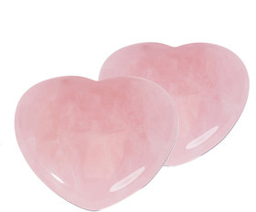 ByCue Rose Quartz Designer Heart