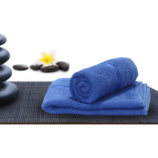 Story @ Home Blue 100 Cotton Hand Towel