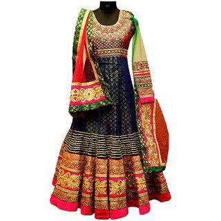 Panisha's Anarkali Suit.