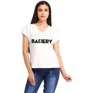 Snoby Battery print t-shirt (SBYPT1919)