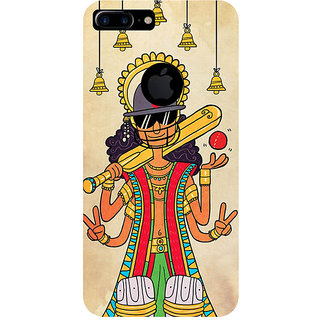 GripIt God of Cricket Back Cover for Apple iPhone 7 Plus