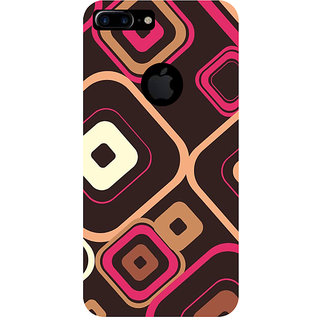GripIt Squares Pattern Printed Case for Apple iPhone 7 Plus