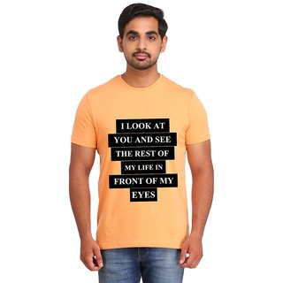 Snoby U are my Life print t-shirt