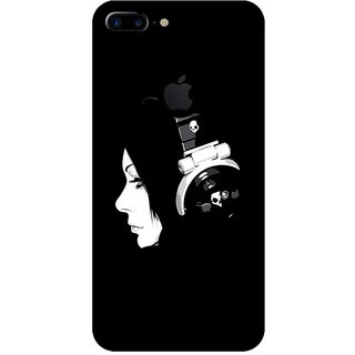 GripIt DJ Girl Printed Back Cover for Apple iPhone 7 Plus