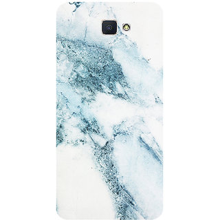 GripIt White Blue Marble Printed Case for Samsung Galaxy J7 Prime