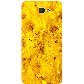 GripIt Yellow Flowers Printed Case for Samsung Galaxy J7 Prime