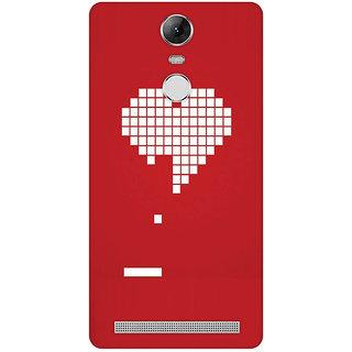 GripIt Digital Heart Case for Lenovo K5 Note